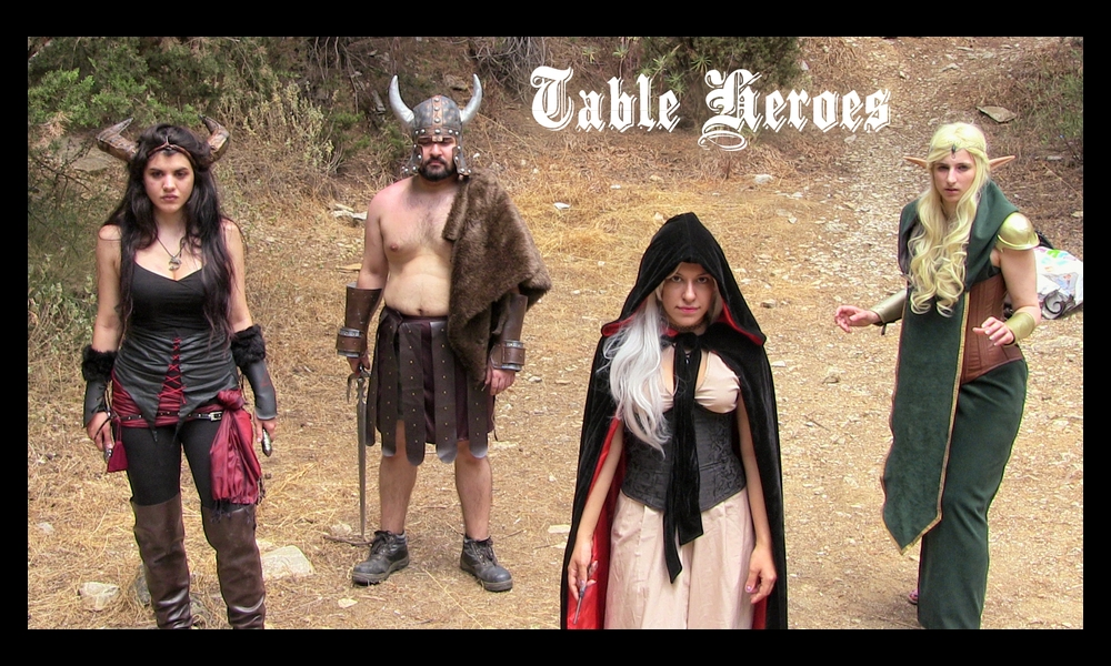 Promo photos for Table Heroes!