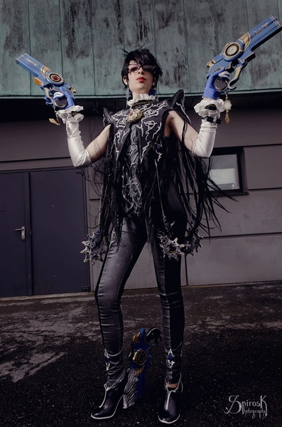 Bayonetta from Alleria Cos. & friend, at Japan Expo 2014