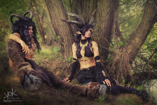 Luka Costume Artist's and Ailiroy's Fauns, from Fotocon 2017