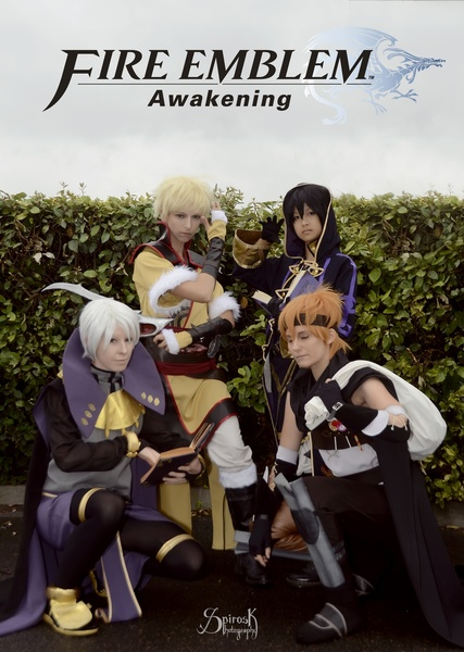 Fire Emblem: Awakening Characters from Shamanrenji Cosplay & friends at Japan Expo 2014