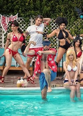 Various Cosplayers' League Of Legends Pool Party 2017